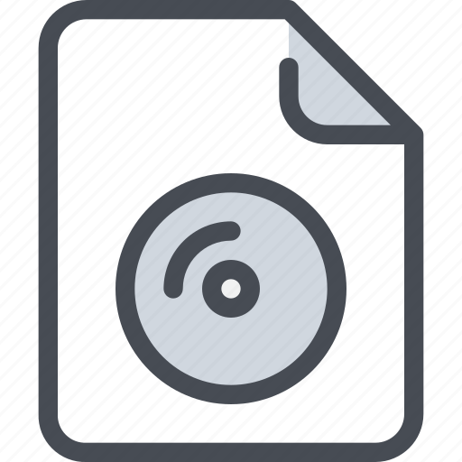 cd, document, file, paper icon
