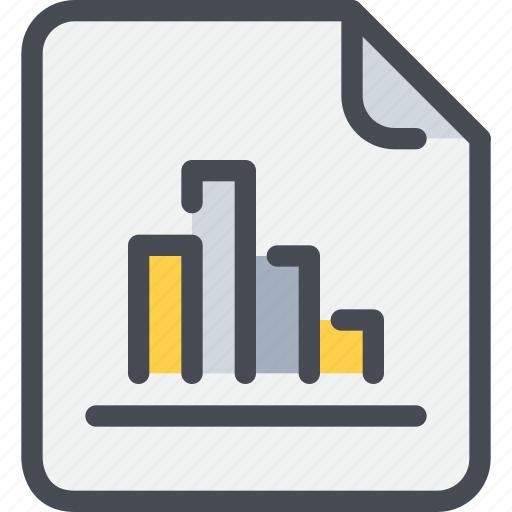business, data, document, file, graph, paper, report icon