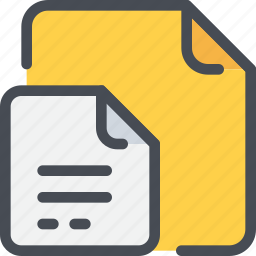 business, document, file, office, paper icon