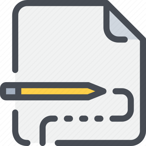 document, education, file, learn, paper, writing icon