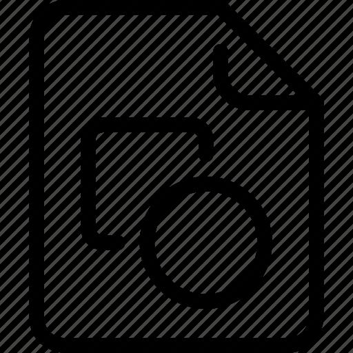 art, creative, design, document, file, paper icon
