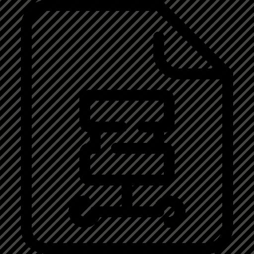 Database, document, file, paper, server icon - Download on Iconfinder