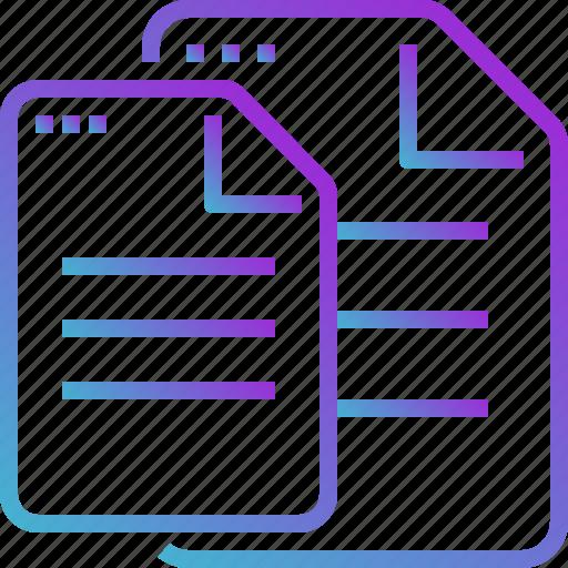 copy, document, file, paper icon