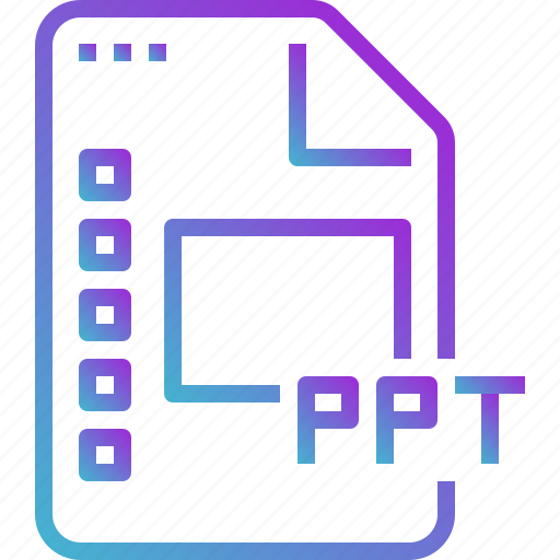 data, document, file, powerpoint, ppt, slide icon