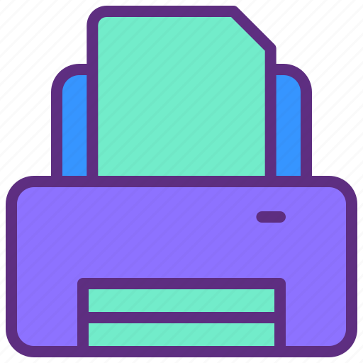 Document, ink, peper, print, printer icon - Download on Iconfinder