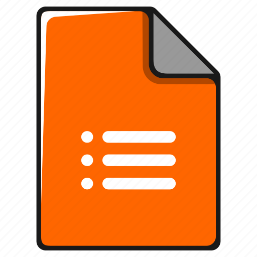 documents, file, list, menu, task, type icon