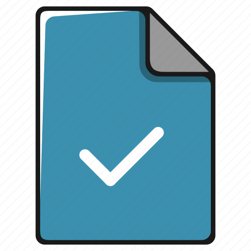 approve, data, documents, file, paper, sheet icon