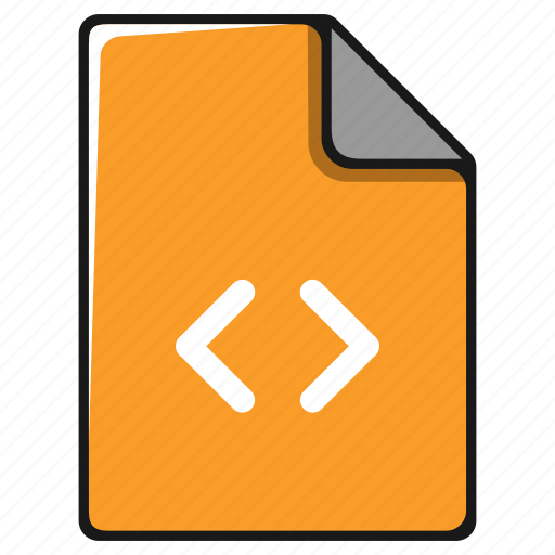 code, data, documents, file, format, programming icon