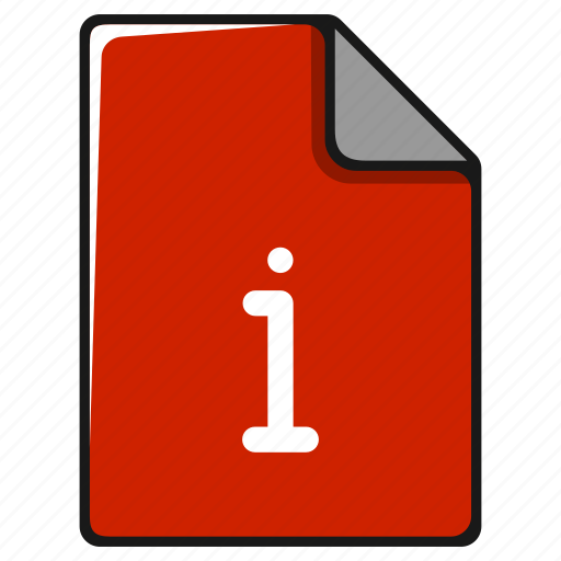 document, extension, file, format, info, information icon