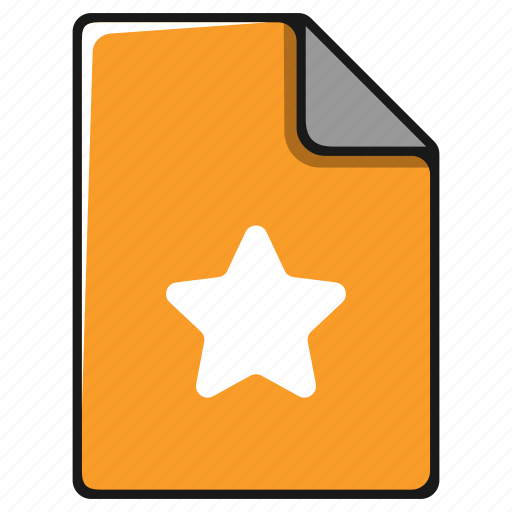award, bookmark, documents, favorite, file icon