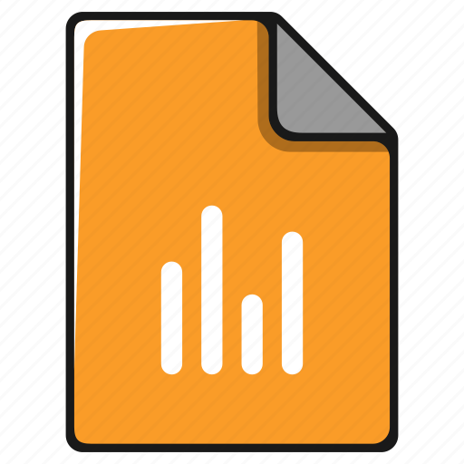 chart, diagram, documents, file, graph, report icon