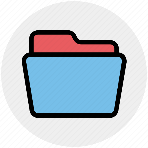 Archive, documents, empty folder, folder, folder open, office icon - Download on Iconfinder