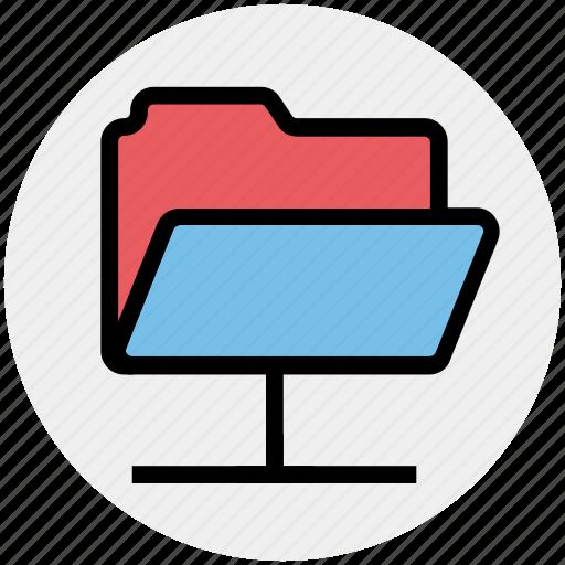 connection, data, folder, share, sharing icon