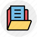 data, document, document folder, files, files and folder, folder icon