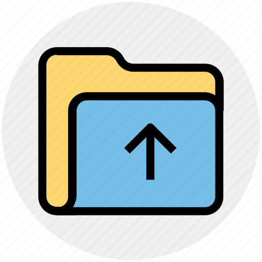 arrow, interface, open, out, outside, upload icon