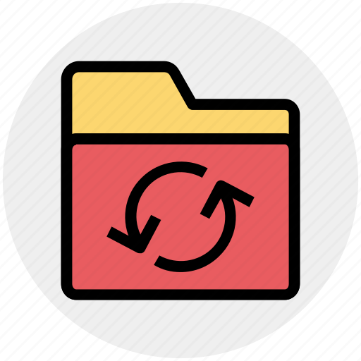 Document, files, folder, loading, sync icon - Download on Iconfinder