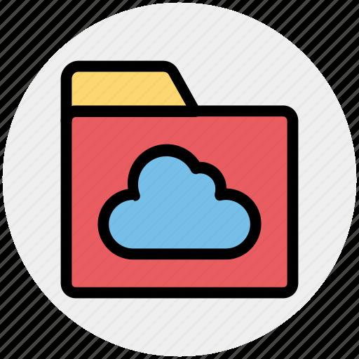 cloud, directory, files, folder, sharing icon