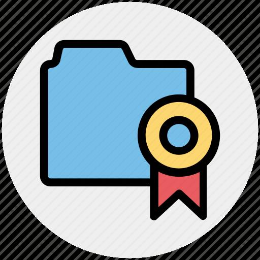 award, band, bookmark, favorite, folder, tape icon
