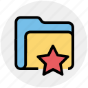 category, favorite, folder, star, storage icon