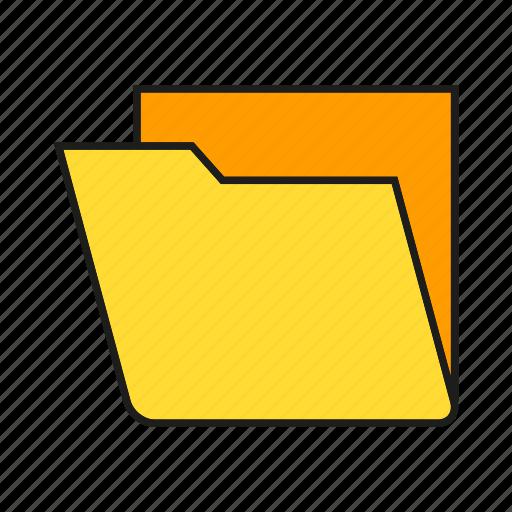archive, data, document, file, folder, info, storage icon