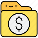 banking, currency, dollar, finance, money icon