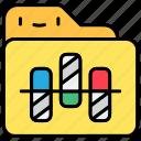 analytics, bar, bar chart, business, strategy icon