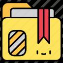 archievce, document, file, folder icon