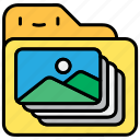 file, gallery, image, photo, photo gallery icon