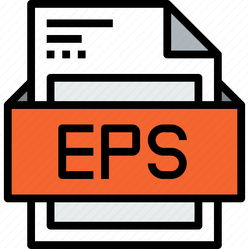 eps, file, format icon