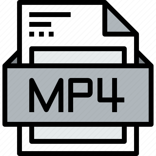 File, format, mp4 icon - Download on Iconfinder