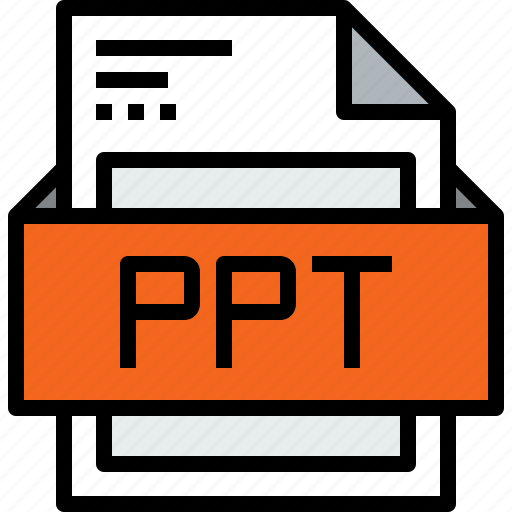 file, format, ppt icon