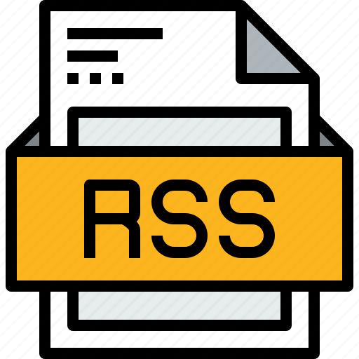 file, format, rss icon