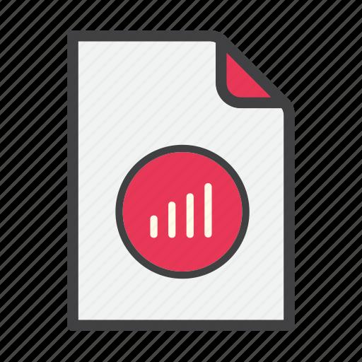 analytics, bar graph, document, file, statistics icon