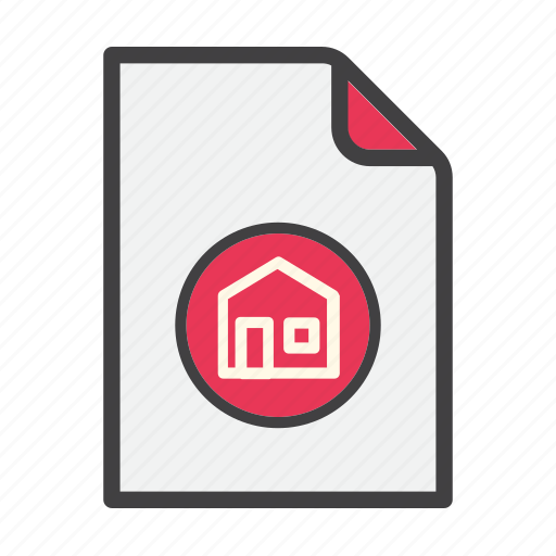 data, document, file, home, main icon