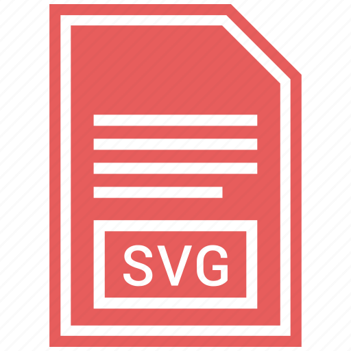 document, extension, file, file format, svg file icon