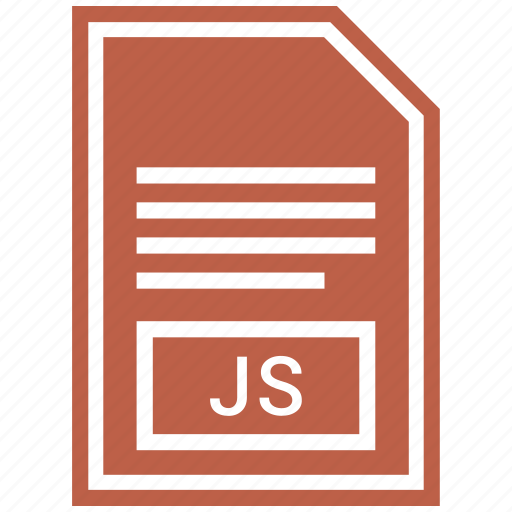 document, file, format, js icon
