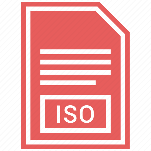 document, extension, file format, iso icon