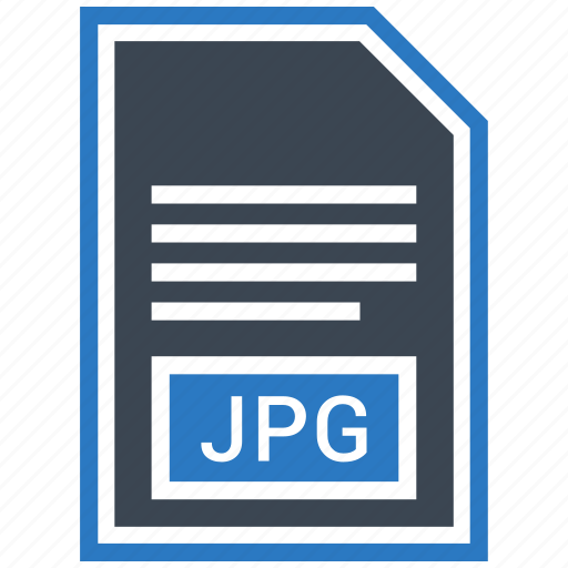 extensiom, file, file format, jpg file icon