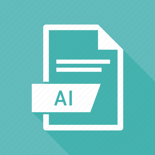 ai file, document, extension, file icon