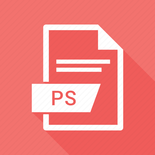document, extension, file, photo shop, ps icon
