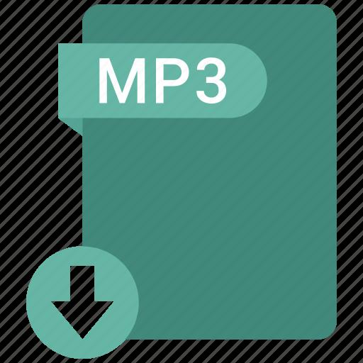 filetypes, movie, mp3, video icon