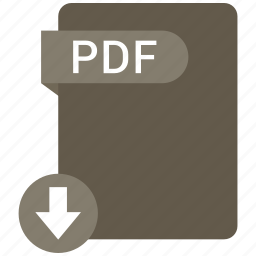 extension, file, format, paper, pdf icon