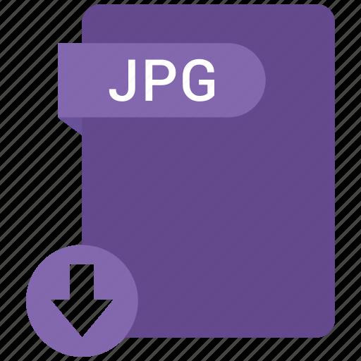 document, file, jpg, tag icon