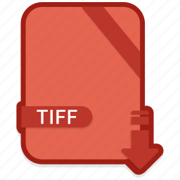 document, file, format, tiff, type icon