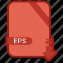 document, eps, extension, format, paper