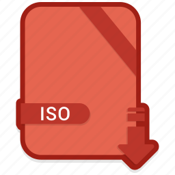 document, extension, format, iso, paper icon