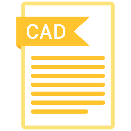 Cad, documents, file, format, paper icon - Free download