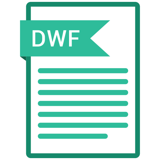 documents, dwf, file, format, paper icon