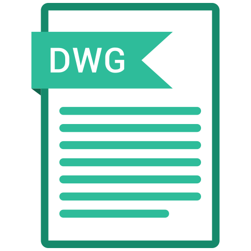 documents, dwg, file, format, paper icon