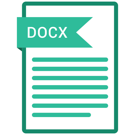 documents, docx, file, format, paper icon